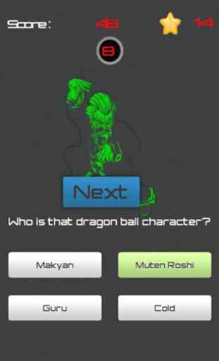 Name Character for Dragon Ball 4