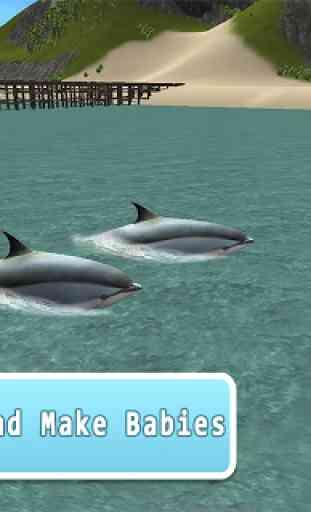 Ocean Dolphin Simulator 3D 2