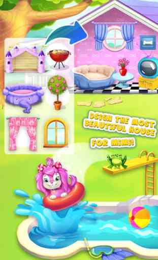 Pink Dog Mimi - My Virtual Pet 2