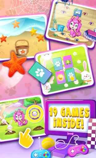 Pink Dog Mimi - My Virtual Pet 3