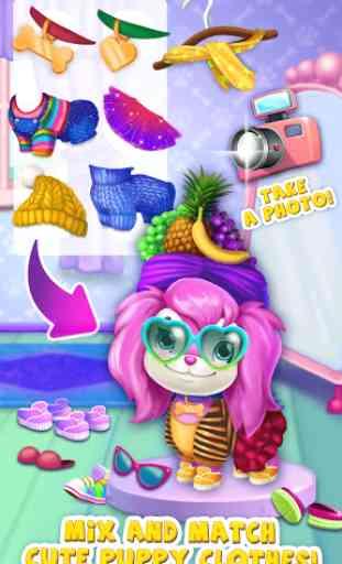 Pink Dog Mimi - My Virtual Pet 4