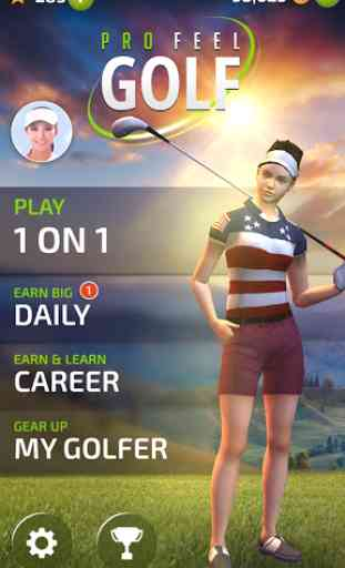 Pro Feel Golf 1
