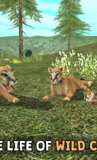 Wild Cougar Sim 3D image 1