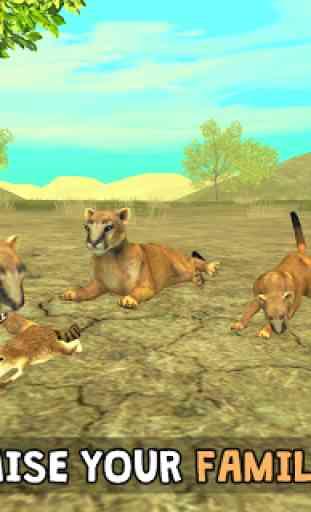 Wild Cougar Sim 3D image 2