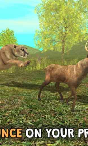 Wild Cougar Sim 3D image 3
