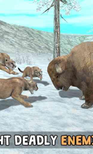 Wild Cougar Sim 3D image 4