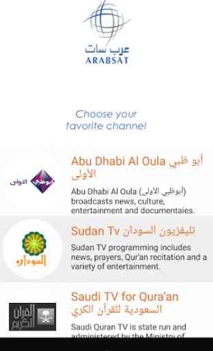 Arabsat TV Everywhere 1