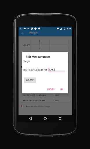 Body Measurement Tracker 4