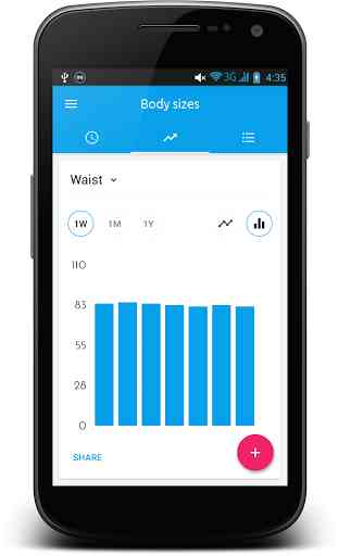 Body Sizes Measurement Monitor 3