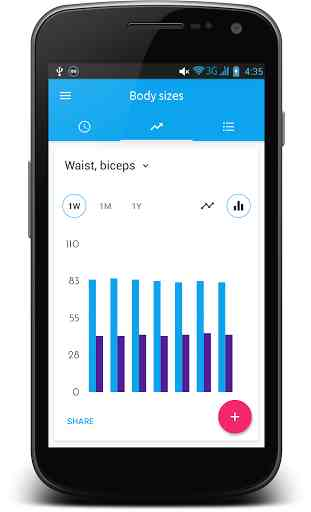 Body Sizes Measurement Monitor 4