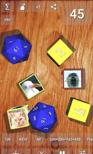 DnDice - 3D RPG Dice Roller 1