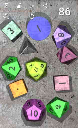 DnDice - 3D RPG Dice Roller 4