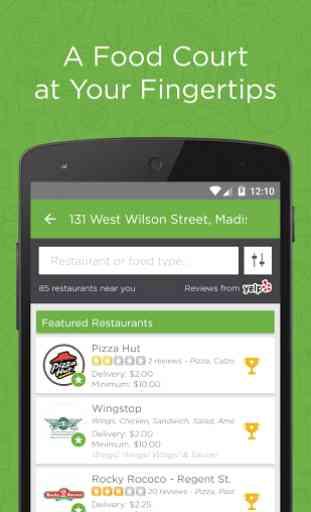 EatStreet Food Delivery App 2