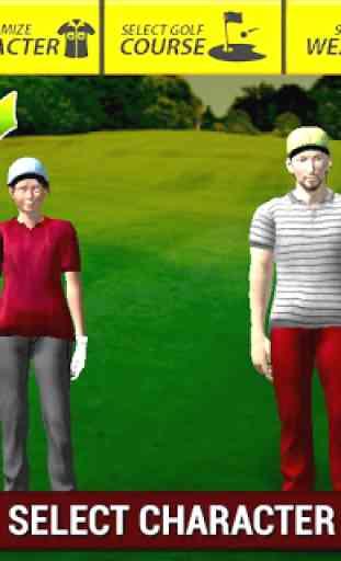 Professional Golf Play 3D 4