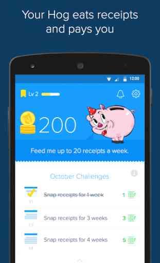 Receipt Hog - Receipts to Cash 1