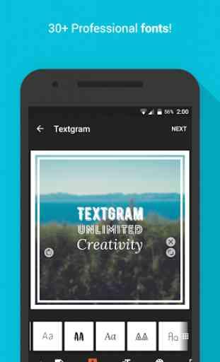 Textgram - write on photos 4
