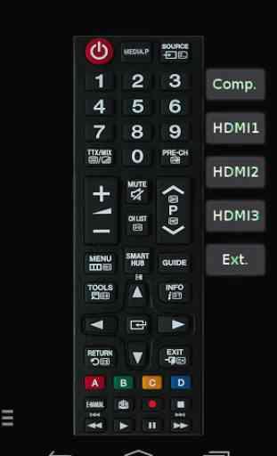 TV (Samsung) Remote Control 4