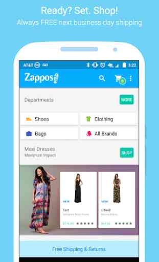 Zappos: Shoes, Clothes, & More 1