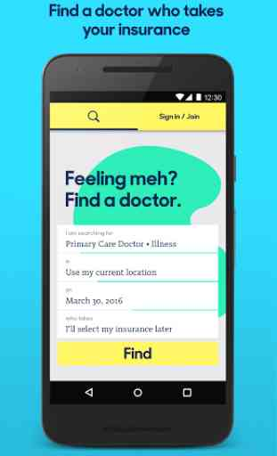 Zocdoc: Find & book a doctor 1
