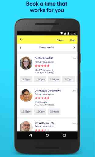 Zocdoc: Find & book a doctor 2