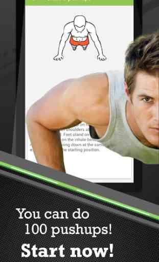 100 Pushups workout 1