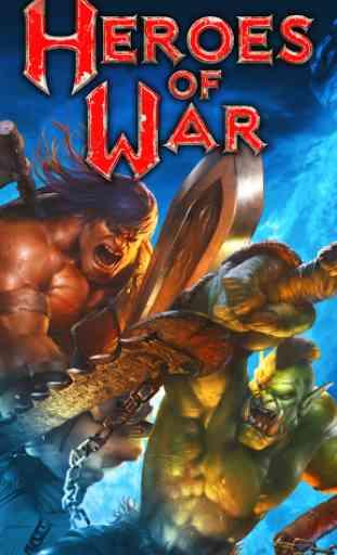 Heroes of War: Orcs vs Knights 1