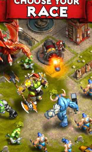 Heroes of War: Orcs vs Knights 3