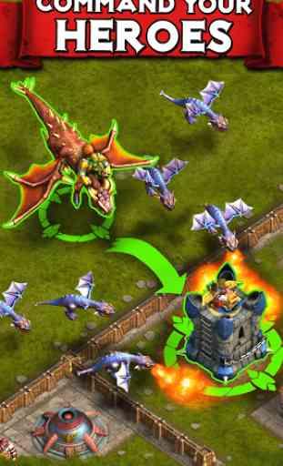 Heroes of War: Orcs vs Knights 4