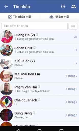 Lite Messenger for Facebook 2