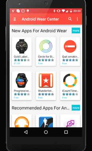 Smartwatch Center Android Wear 1