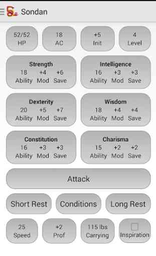 Squire - Character Manager 2
