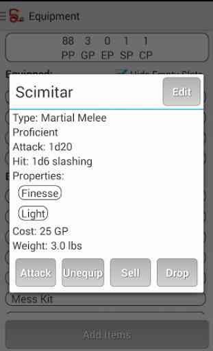 Squire - Character Manager 4
