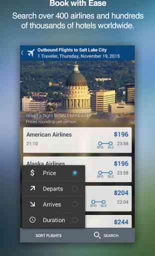 Travelocity Hotels & Flights 3