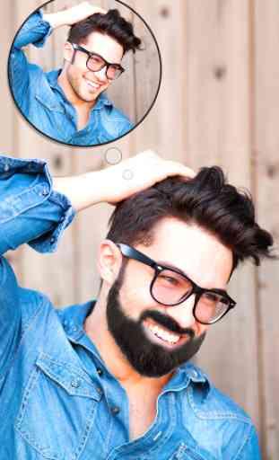 Man Hair Mustache Style  PRO 1