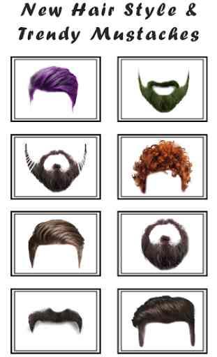 Man Hair Mustache Style  PRO 2