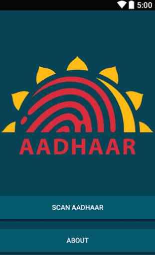 Aadhaar Scan 2