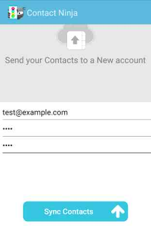 Address Book Contacts Backup 2