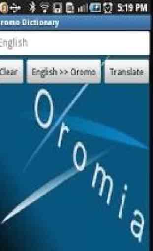 Oromo Dictionary 1