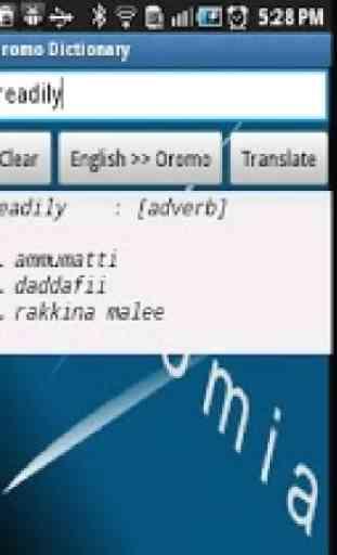 Oromo Dictionary 3