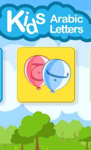Kids Arabic Letters Free 2