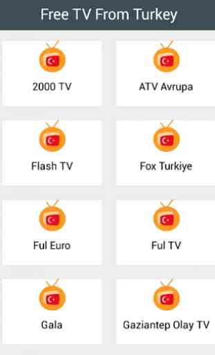 Free TV From Turkey 1
