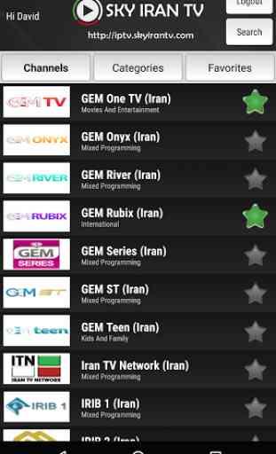 Sky Iran TV 1