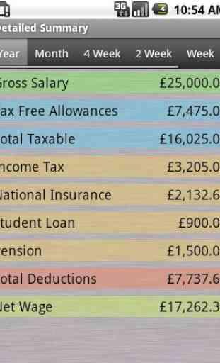 PAYE Tax Calculator (Free) 2