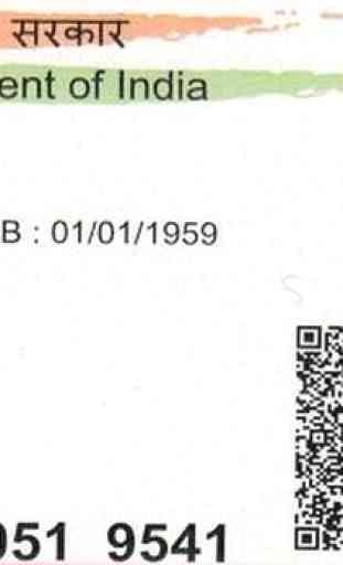 Aadhaar ID Scanner 2
