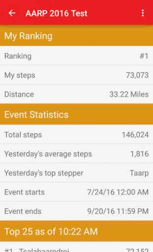 AARP Walking Challenge 4