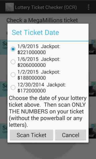 Lottery Ticket Checker 4