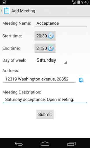 Meeting Finder 3