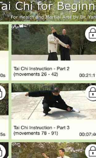 Yang Tai Chi for Beginners 2&3 4