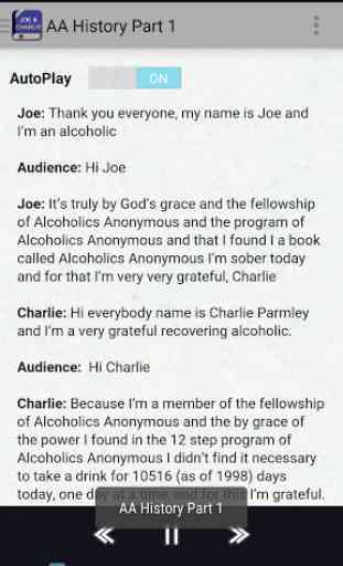 Joe & Charlie - AA Big Book 3