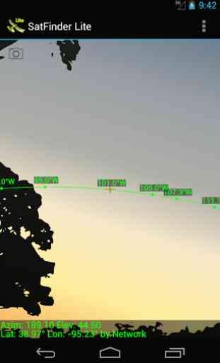 SatFinder Lite - TV Satellites 1